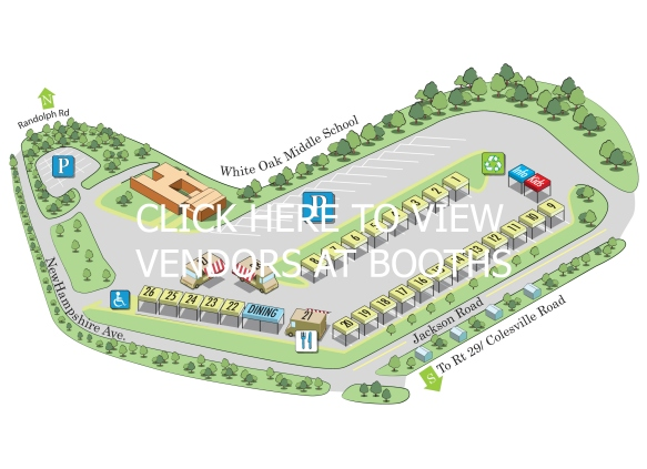 2014 White Oak Clickable Map